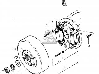 Suzuki FA50 1981 (X) USA (E03) parts lists and schematics