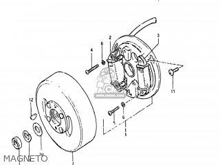 Suzuki FA50 1982 (Z) USA (E03) parts lists and schematics