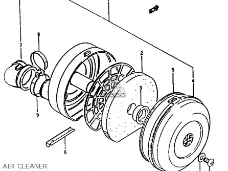 Suzuki Fa50 1983 (d) parts list partsmanual partsfiche