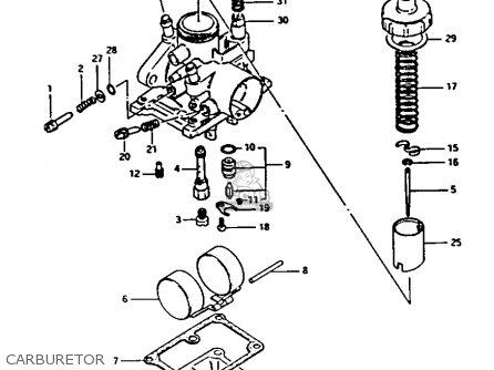 Suzuki FA50 1983 (D) parts lists and schematics