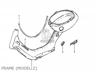 Suzuki Fa50 1983 (d) Usa (e03) parts list partsmanual