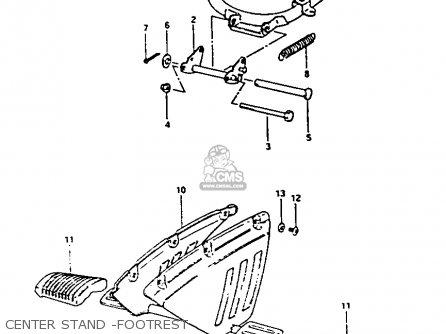 Suzuki Fa50 1984 (e) parts list partsmanual partsfiche