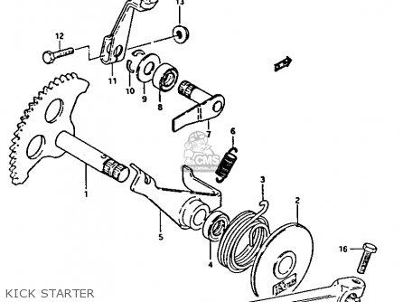 Suzuki FA50 1984 (E) parts lists and schematics