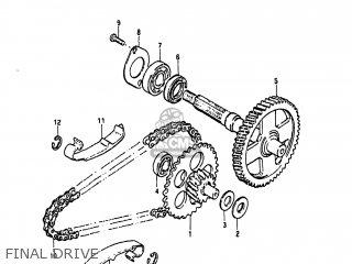 Suzuki FA50 1984 (E) USA (E03) parts lists and schematics