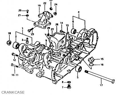 Suzuki Fa50 1985 (f) parts list partsmanual partsfiche