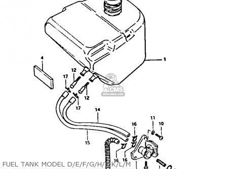 Suzuki FA50 1985 (F) parts lists and schematics