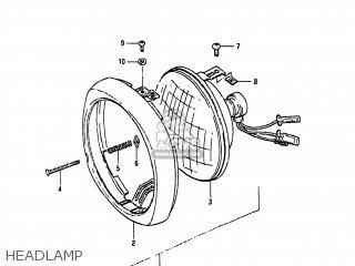 Suzuki FA50 1985 (F) USA (E03) parts lists and schematics