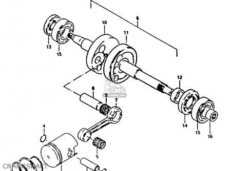 Suzuki FA50 1986 (G) parts lists and schematics