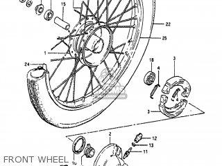 Suzuki FA50 1986 (G) USA (E03) parts lists and schematics