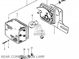 Suzuki Fa50 1987 (h) Usa (e03) parts list partsmanual