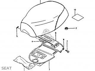 Suzuki Fa50 1988 (j) parts list partsmanual partsfiche