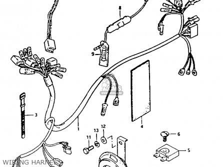 Suzuki FA50 1988 (J) parts lists and schematics