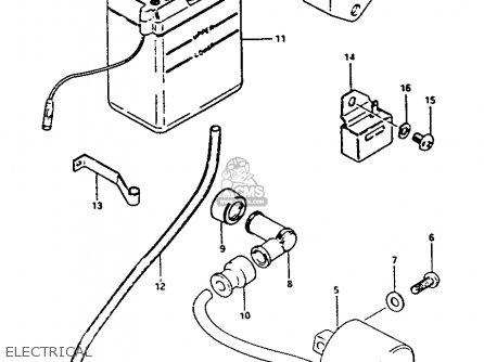 Suzuki FA50 1990 (L) parts lists and schematics
