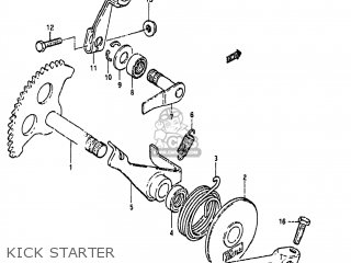 Suzuki FA50 1990 (L) USA (E03) parts lists and schematics