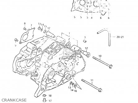 Suzuki Fr50 1981 (x) parts list partsmanual partsfiche