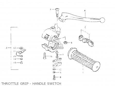 Suzuki Fr50 1981 (x) (e01 E02 E06 E13 E24) parts list