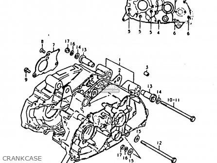 Suzuki Fr80 1979 (n) (e01 E02 E06 E10 E12 E13 E24 E32 E43