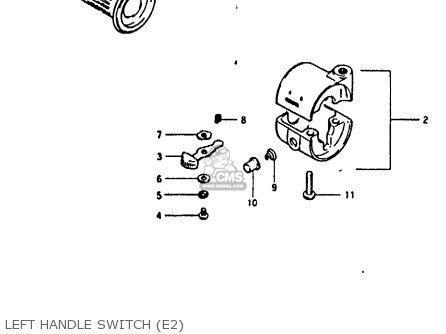 Suzuki Fr80 1982 (z) (e1 E2 E6 E10 E13 E23 E24 E32 E43 E45