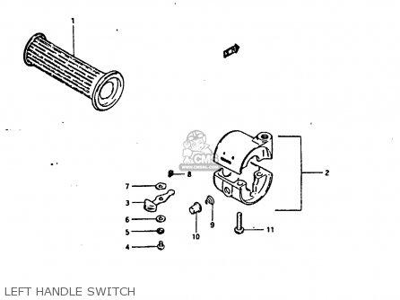 Suzuki Fr80 1983 (d) United Kingdom (e02) parts list