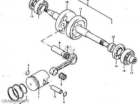 Suzuki Fz50 1979 (n) parts list partsmanual partsfiche