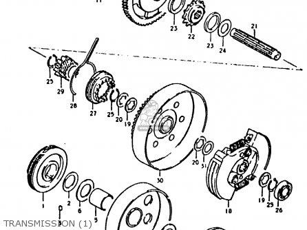 Suzuki FZ50 1979 (N) parts lists and schematics