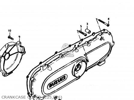 Suzuki Fz50 1989 (k) (e01 E16 E24 E26) parts list