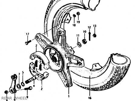 Suzuki Fz50 1990 (l) Australia (e24) parts list