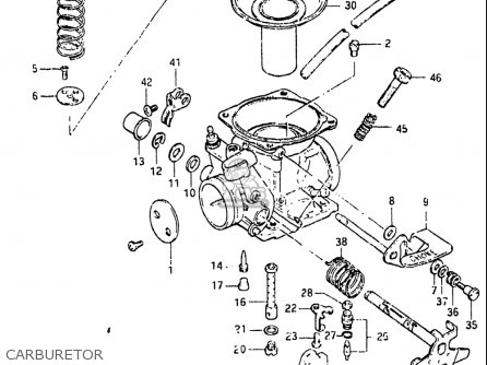 Suzuki Gn125 1982-1983 (usa) parts list partsmanual partsfiche