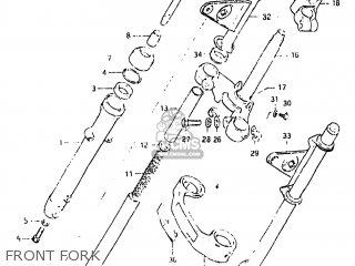 Suzuki GN125 1982 (Z) USA (E03) parts lists and schematics