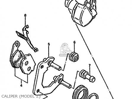 Suzuki Gn125 1989 (k) (e01 E04 E18) parts list partsmanual