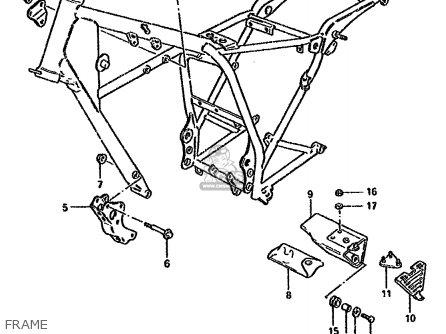 Suzuki Gn125 1991 (em) parts list partsmanual partsfiche