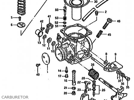 Suzuki Gn125 1994 (er) parts list partsmanual partsfiche