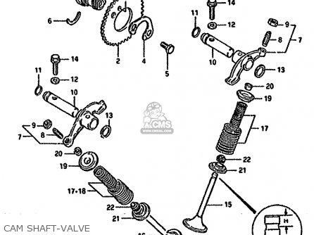 Suzuki GN125 1994 (R) (E01 E02 E04 E21 E34) parts lists