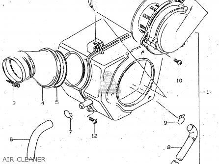 Suzuki Gn125 1997 (ev) parts list partsmanual partsfiche
