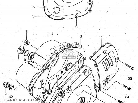 Suzuki Gn125 1997 (v) parts list partsmanual partsfiche