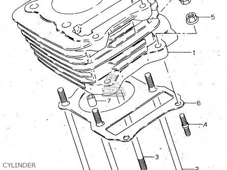 Suzuki GN125 1998 (W) (E02 E04 E18 E21 E22) parts lists
