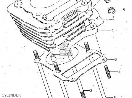 Suzuki GN125 1999 (X) (E02 E04 E18 E21 E22 E71) / P9 parts