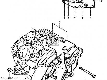 Suzuki Gn125e 1991 (m) Singapore (e30) parts list