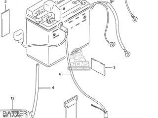 Suzuki GN125E 1994 (R) USA (E03) parts lists and schematics