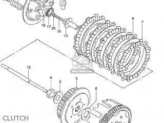 Suzuki GN125E 1995 (S) USA (E03) parts lists and schematics