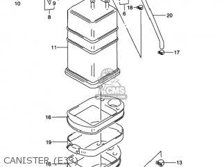 Suzuki GN125E 1997 (V) USA (E03) parts lists and schematics