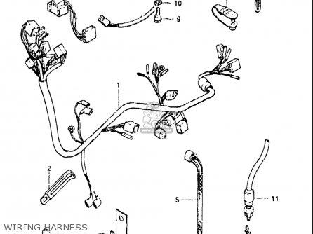 Suzuki Gn250 1982-1983 (usa) parts list partsmanual partsfiche