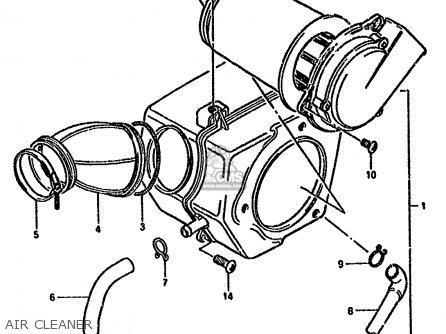 Suzuki Gn250 1985 (f) parts list partsmanual partsfiche