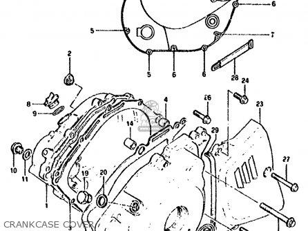 Suzuki GN250 1985 (F) (E02 E22 E24 E39 E95) parts lists