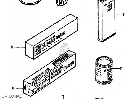Suzuki Gn250 1985 (f) (e02 E22 E24 E39 E95) parts list