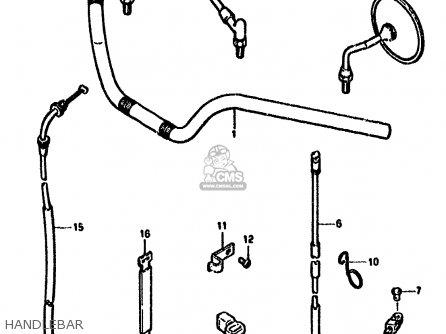 Suzuki Gn250 1990 (l) Australia (e24) parts list