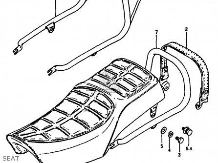 Suzuki Gn250 1993 (p) Australia (e24) parts list