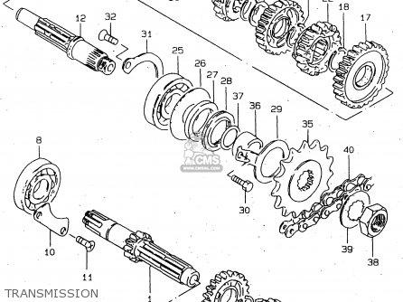 Suzuki GN250 1996 (T) (E02 E04 E22 E24 E25 E34 E39) / P37