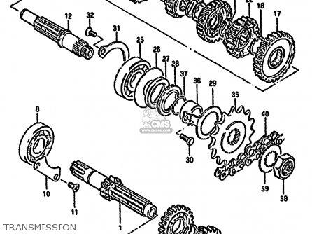 Suzuki GN250E 1991 (M) GENERAL (E01) parts lists and