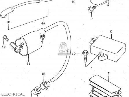 Suzuki GN250E 1996 (T) GENERAL (E01) parts lists and